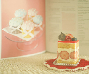 book, cookbook, and sweets image