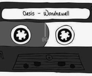 oasis, wonderwall, and music image