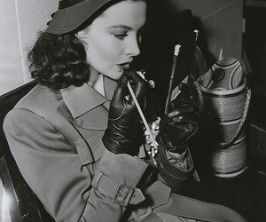 vivien leigh, b&w, and beauty image