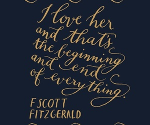 quotes, love, and fitzgerald image