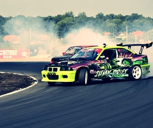 bmw, drift, and duel image