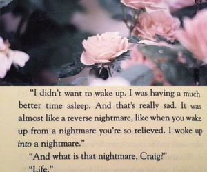 life, nightmare, and quote image