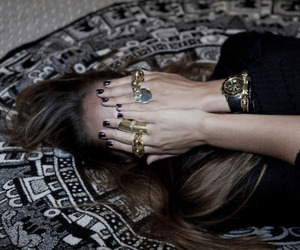rings, fashion, and girl image