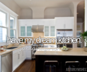 kitchen, Dream, and house image