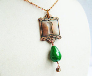accessories, copper, and green image