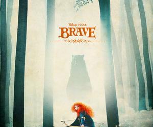 brave, merida, and bear image