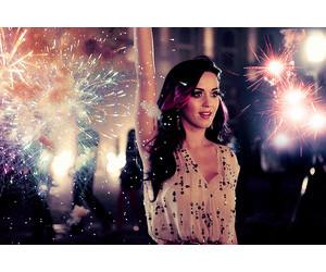 celebrities, katy perry, and fireflies image