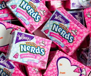 nerd, candy, and pink image