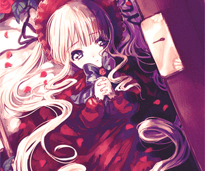shinku, anime, and rozen maiden image