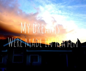 beautiful, sunset, and dreams image