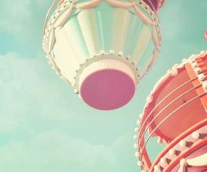 pastel, vintage, and sky image