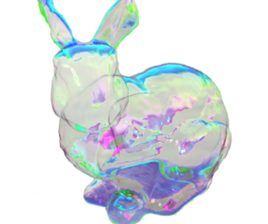 bubbles, rabbit, and cute image