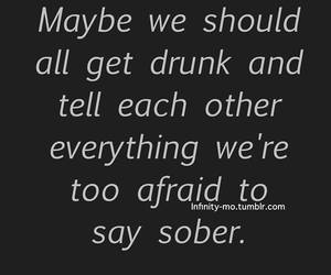 drunk, quote, and text image