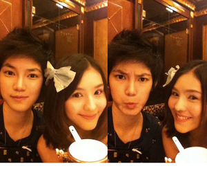 best friend, tina jittaleela, and aom sushar image