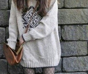 sweater and tights image