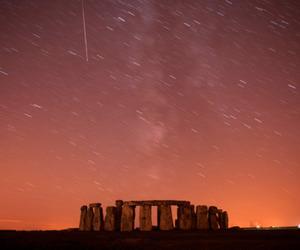 stonehenge and stars image