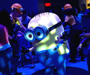 dance, funny, and minion image