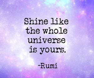 quote and shine image