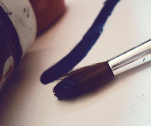 art, flickr, and blue. image