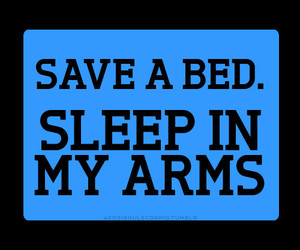 text, love, and bed image