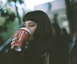 analog, bangs, and girl image