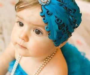 baby, blue, and sweet image