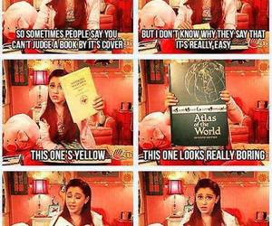 book, victorious, and sam&cat image