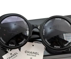 chanel, sunglasses, and love image
