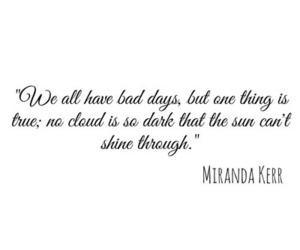quote, miranda kerr, and sun image