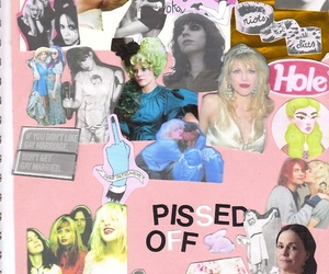 Courtney Love, kathleen hanna, and riot grrrl image