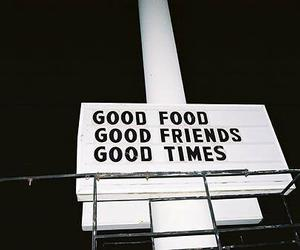 friends, food, and quotes image