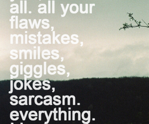 mistakes, sarcasm, and smiles image