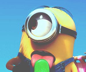 minions, ice cream, and summer image