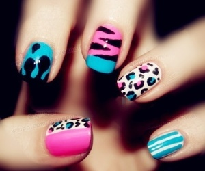 nails, pink, and super cool image