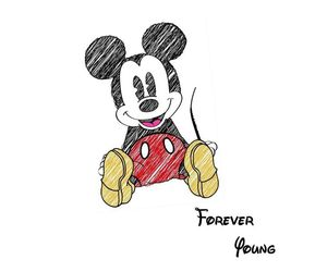 black, disney, and forever image
