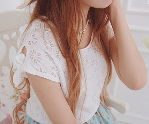 asian, clothing, and dyed hair image