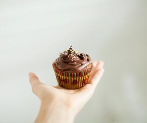 chocolate, food, and cupcake image