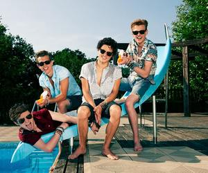 the vamps, brad, and connor ball image