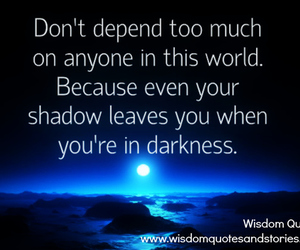 Darkness, life, and shadow image