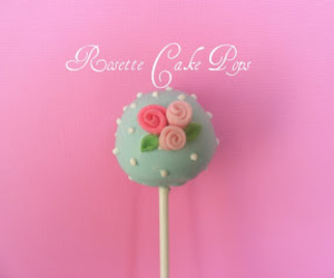 cakepop, rose, and sweet image