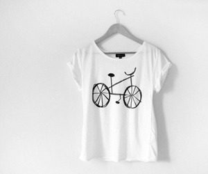 bicycle, cool, and t-shirt image