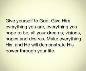 Dream, god, and hope image