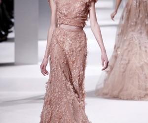 fashion, elie saab, and dress image