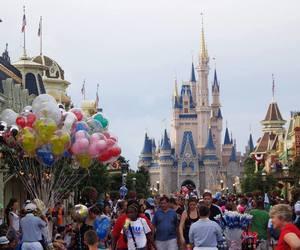balloons, disney world, and Dream image