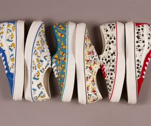 vans, disney, and shoes image