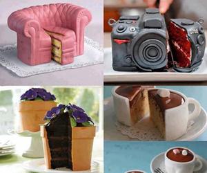 cake, food, and camera image