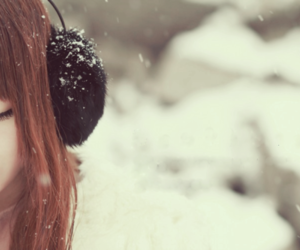 cute, snow, and ulzzang image