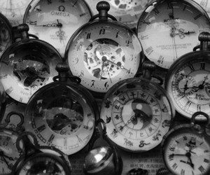 time, clocks, and old image
