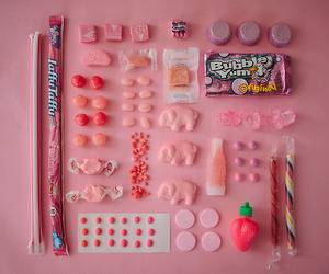 bubble gum, candies, and food image