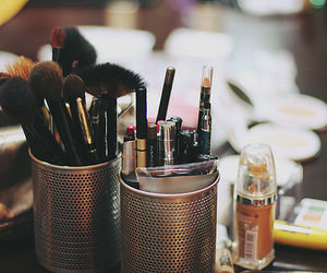 make up, brush, and mac image